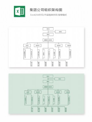 集团公司组织架构图
