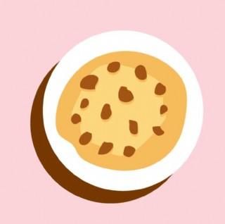 卡通蛋糕面包