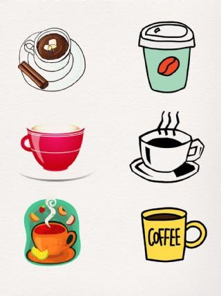下午茶點杯具手繪設計