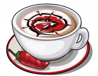 矢量 花式咖啡元素