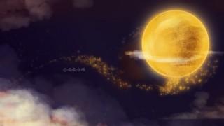 美麗星空月球banner背景